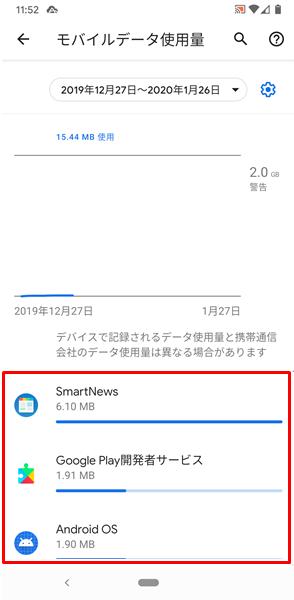 モバイルデータ8